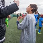 Football coach signing to a deaf player